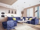 Căn hộ đẹp mắt nhờ nội thất có màu sắc sống động