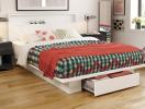 Những mẫu giường thông minh cho bạn thoải mái lưu trữ đồ đạc