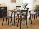 15 mẫu bàn ghế ăn chất liệu gỗ chẳng sợ lỗi mốt