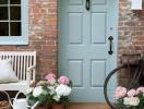 Những gam màu tươi mới cho cửa nhà thêm ấn tượng