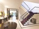Những mẫu thiết kế cầu thang hiện đại dành cho nhà ống