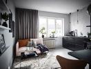 Chiêm ngưỡng căn hộ nhỏ phong cách Scandinavian đẹp không góc chết