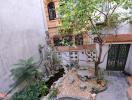 Nhà phố 120 m2 có vườn cây, tiểu cảnh xanh mát của ca sĩ Trọng Tấn