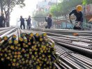 Giá thép xây dựng Trung Quốc bật tăng