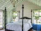 Mê mẩn trước vẻ đẹp thanh lịch của mẫu giường ngủ Canopy