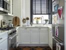 """Mẹo thiết kế để phòng bếp vẫn """"sống khoẻ"""" dù diện tích chỉ vỏn vẹn 5m2"""