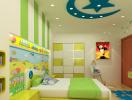 8 lưu ý bố trí nội thất phòng ngủ cho trẻ em