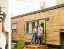 Ngôi nhà 19 m2 đủ chỗ cho gia đình 3 người, chi phí chỉ 285 triệu