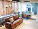 Ấn tượng với căn hộ thiết kế theo phong cách Retro