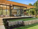 Ấn tượng với thiết kế đậm chất Á Đông của ngôi nhà ở Nhật Bản