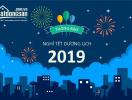 Batdongsan.com.vn thông báo lịch nghỉ Tết Dương lịch 2019