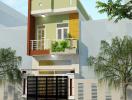 Thiết kế nhà 2 tầng cực tiện nghi với chi phí chỉ 700 triệu đồng