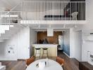 Gác lửng - thiết kế hữu ích và sáng tạo cho những căn hộ nhỏ