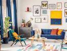 """4 xu hướng thiết kế phòng khách sẽ """"gây bão"""" trong năm 2019"""