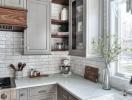 Nới rộng căn bếp nhỏ nhờ những bí quyết đơn giản