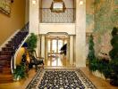 Những cách làm đẹp hành lang với thảm trải sàn