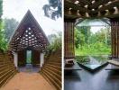 Thăm ngôi nhà độc đáo làm từ bùn và vật liệu tái chế giữa rừng xanh