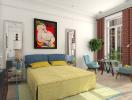 Vẻ đẹp khó cưỡng của 2 phòng ngủ thiết kế theo phong cách cổ điển