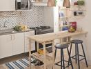 9 phòng bếp nhỏ đáng giá cho nhà chật
