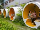 Độc lạ quán cà phê ống cống giữa lòng Sài Gòn