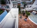 Kiến trúc độc đáo cho phép gia chủ Sài Gòn tiếp khách ngay trên mái nhà