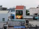 Không gian sống vừa chung vừa riêng trong ngôi nhà ống ở Đà Nẵng