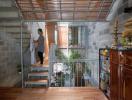 Khoảng thở trong ngôi nhà gỗ kết cấu khung bê tông cốt thép