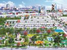 Ba vòng tiện ích hoàn hảo của Hana Garden Mall
