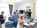 Sức nóng tại lễ khai trương căn hộ mẫu dự án Paris Hoàng Kim