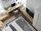 5 mẫu phòng ngủ tiện nghi bất chấp diện tích nhỏ hẹp