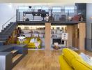 Biến phòng chứa đồ trên gác mái thành không gian sinh hoạt gia đình ấn tượng