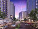 Cân bằng nhịp sống tại thành phố ánh sáng Akari City