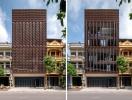 """Nhà phố 5 tầng """"biết thở"""" ở Bắc Ninh"""