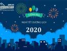 Batdongsan.com.vn thông báo lịch nghỉ Tết Dương lịch 2020