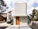 Tan chảy trước vẻ đẹp của ngôi nhà Nhật tối giản có khoảng vườn bên trong