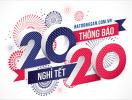 Batdongsan.com.vn thông báo lịch nghỉ Tết Canh Tý 2020