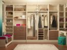 Bí quyết thiết kế phòng thay đồ đẹp không kém cửa hàng quần áo thu nhỏ