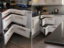 Tối ưu hóa không gian nấu nướng với 10 ý tưởng tận dụng góc bếp chữ L, chữ U