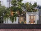 Nhà lệch tầng Sài Gòn có công viên thu nhỏ trên mái