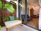Kiến trúc sư giúp bạn thân cải tạo nhà cấp 4 cũ thành homestay với chi phí 1 tỷ đồng