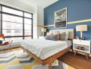 Chọn màu sắc hợp phong thủy cho phòng ngủ vợ chồng