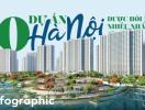 [Infographic] 10 dự án tại Hà Nội được hỏi mua nhiều nhất trong quý 3