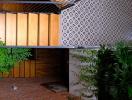 Nhà trong hẻm nhỏ vẫn ngập nắng nhờ dành 1/3 diện tích làm thông tầng