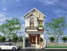 Tư vấn thiết kế nhà mái Thái đẹp, công năng hợp lý trên đất 5x25m