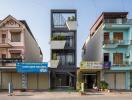 Nhà ống Bắc Ninh ngập sắc xanh nổi bật trên tạp chí kiến trúc thế giới