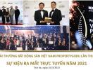 Lịch trình tổ chức Giải thưởng Bất động sản Việt Nam PropertyGuru 2021