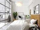 6 giải pháp đơn giản giúp phòng không có cửa sổ vẫn thoáng sáng không ngờ