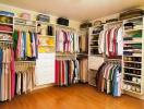 Cách sắp xếp tủ quần áo gọn gàng giúp bạn tiết kiệm hàng giờ tìm kiếm