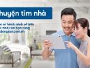 Chia sẻ chuyện tìm nhà với Langbatdongsan.vn