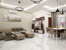 Các bước hoàn thiện nội thất nhà chung cư bàn giao thô